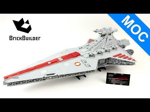 Lego MOC Star Wars UCS Venator Star Destroyer - 5414 pcs!!! - Lego Speed Build
