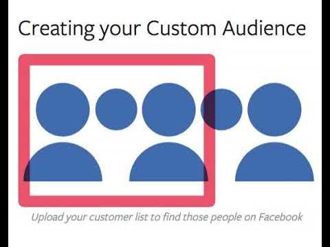Creating Custom Audiences on Facebook 101