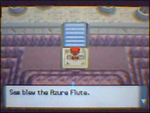 Pokemon Diamond/Pearl: How to get the Azure Flute and Arceus (Action Replay DS)