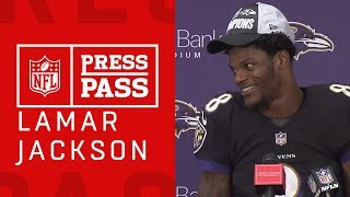 """Lamar Jackson on Making the Playoffs """"We're Fighting for the Championship Now"""""""