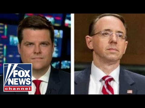 Rep. Matt Gaetz: We need to impeach Rod Rosenstein