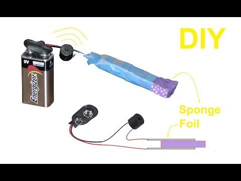 How to Make a Simple Water Leak Detector Alarm Sensor at Home