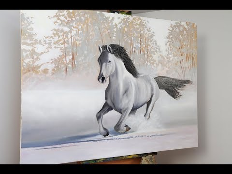 How to Paint a Horse in Oils