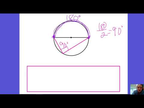 10.4 Inscribed Right Angles