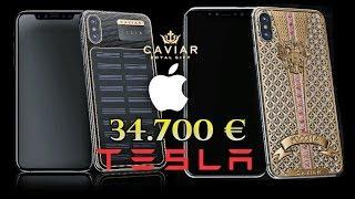 El iPhone X de 34.700 € y el iPhone TESLA