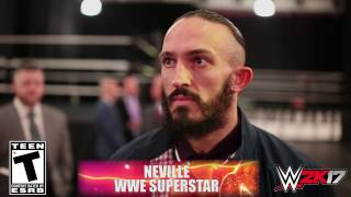WWE 2K17 - WrestleMania Interview with Neville
