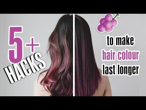 5+ Hacks To Make Hair Colour Last Longer