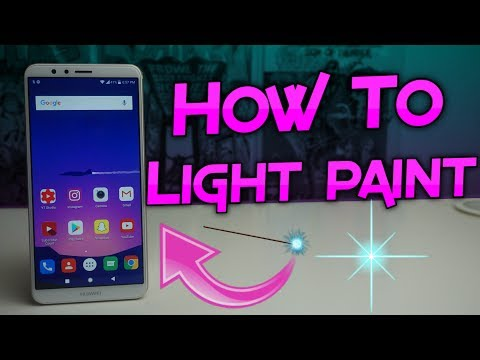 Huawei Mate SE | How To Use Light Painting Mode