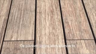 Moso Bamboo X-treme decking maintenance with Sikkens Cetol