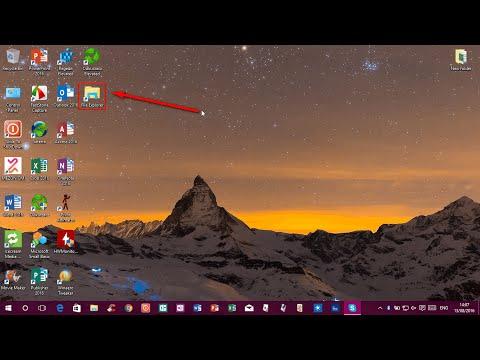Create desktop shortcut for File Explorer | Windows 10 Version