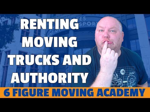 Renting Moving Trucks: Do I Have To Have Moving Authority?