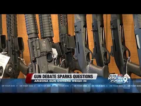 Tombstone Mayor, Sierra Vista gun shop owner weigh in on debate over gun reform