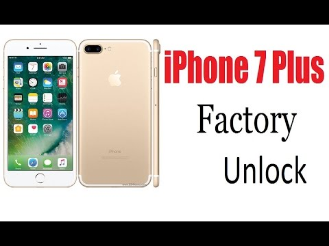 iPhone 7 Plus Factory Unlock Done With iTunes !!