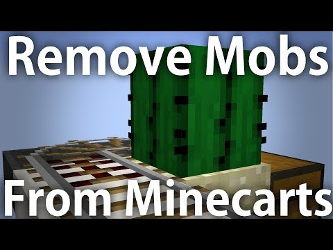 Minecraft | Simple Minecart Ejector Tutorial