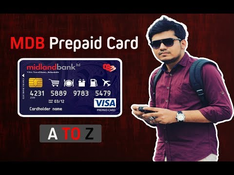 MDB Prepaid Card | Midland Bank Limited A to Z