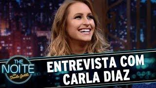 Entrevista com Carla Diaz   The Noite (19/07/17)
