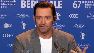 Logan - World Premiere Press Conference (2017) Wolverine Hugh Jackman Patrick Stewart