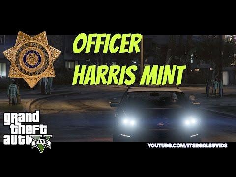 GTA 5 Short: Officer Harris  Mint
