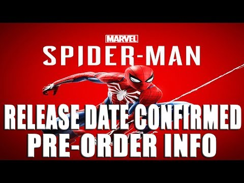 MARVEL'S SPIDER-MAN (PS4) - RELEASE DATE, DLC, & COLLECTOR'S EDITION PRE-ORDER DETAILS CONFIRMED
