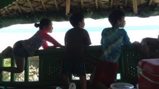 Family beach getaway