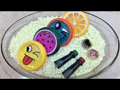 MIXING STORE BOUGHT SLIME AND SLIME!! SLIMESMOOTHIE! SATISFYING SLIME VIDEO!