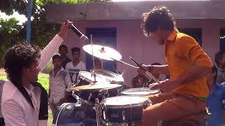Bharat  janta band Himmatnagar Drummer :-Rockey