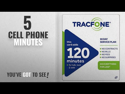 Cell Phone Minutes [2018 Best Sellers]: Tracfone 120 Minutes / Units for 90 Days - Tracfone