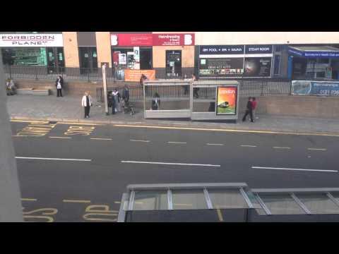 Birmingham bus stop time lapse