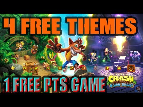 4 NEW FREE PS4 Themes 1 FREE Game Trial Public Test Server
