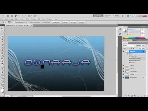 How to make cool looking background for your desktop in photoshop cs5