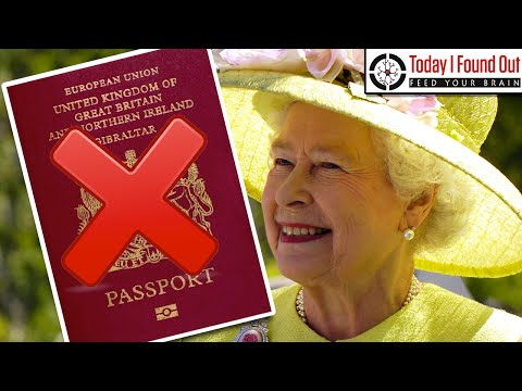 Why Doesn't the Queen of England Need a Passport?