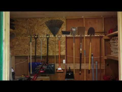 Build a Pair of Garden Tool Racks