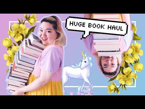 HUGE APRIL BOOK HAUL 😱📚 + GIVEAWAY