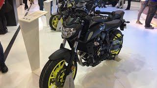 Yeni 2018 Yamaha MT-07 | Motobike Istanbul 2018