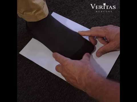 Veritas Bespoke   How to measure your foot width