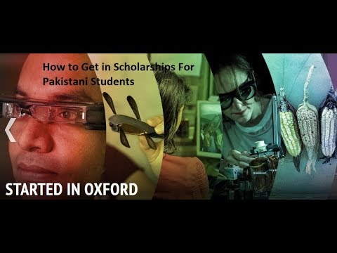 How to Get a Scholarship in Oxford University | Rhodes Scholarships