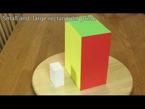 Paper Rectangular Prism Tutorial