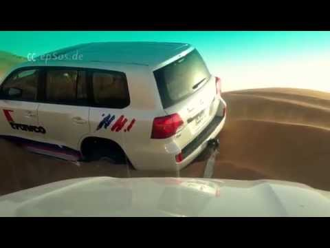 How to Rescue a Car from Sand Dunes
