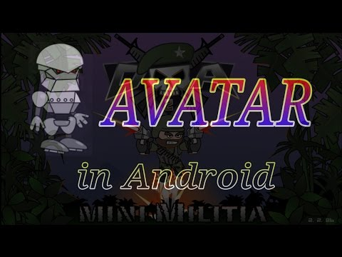 How to get Mecha Doodle Avatar in Mini Militia Android