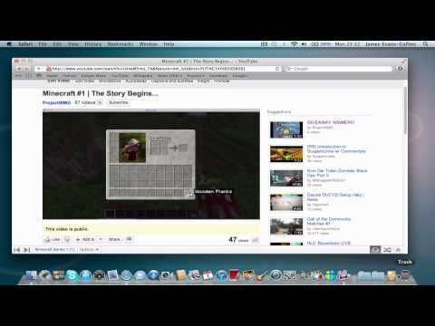 How To: Install Texture Packs For Minecraft On Mac OS X 10.7 Lion EASILY!!
