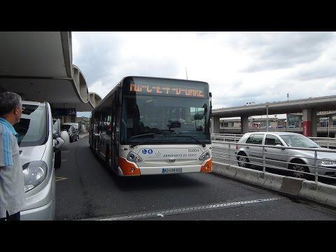 Aéroport Paris-Charles-de-Gaulle Heuliez Bus @ N1 shuttle PW car park - SNCF railway station