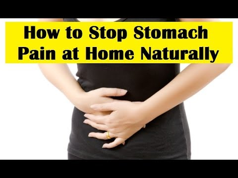 Stomach Pain - Natural Home Remedies for Abdominal Pain - Stomach Ache Due to Gas & Indigestion