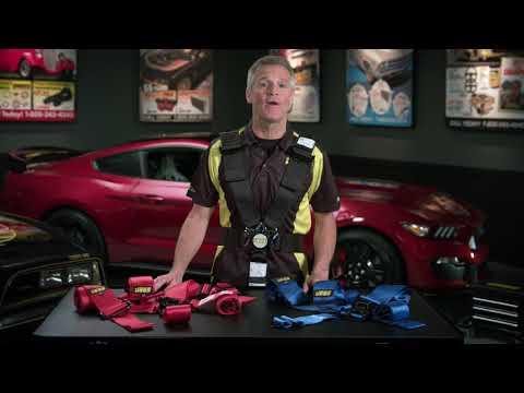 JEGS SFI Ultra Series Cam Lock Latch Link Harnesses Race Belts Kenny Wallace