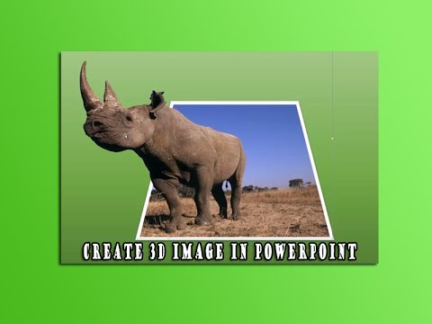 Create 3D Image in Powerpoint