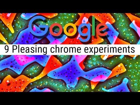 9 Pleasing Google Chrome Experiments