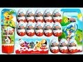 16 Kinder Surprise Eggs Unboxing (Old Series from 2007 ...