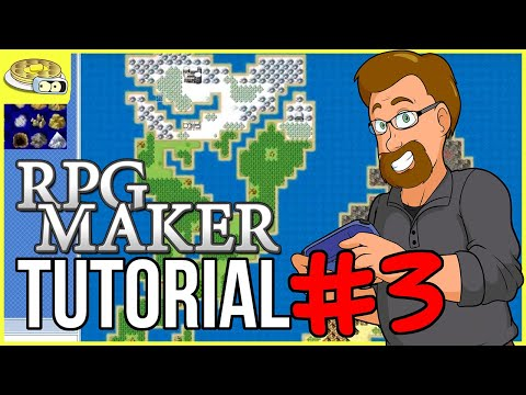 Creating The WORLD MAP | BenderWaffles Teaches - RPG Maker Tutorial HOW TO #3