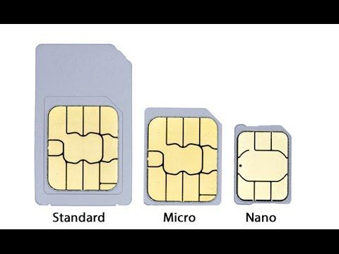 How to cut a micro sim to a nano