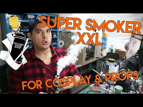 Super Smoke machine XXL for your cosplay and props