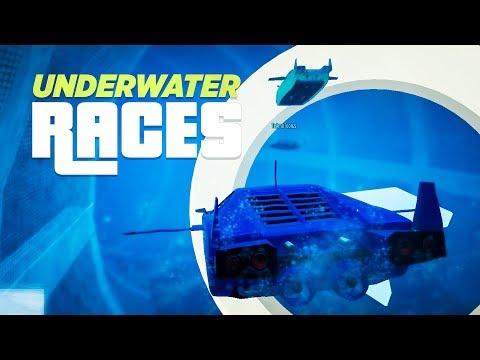 UNDERWATER RACES! - GTA Online